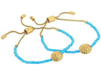 Madewell Westward Friendship Bracelets (Turquoise) Bracelet