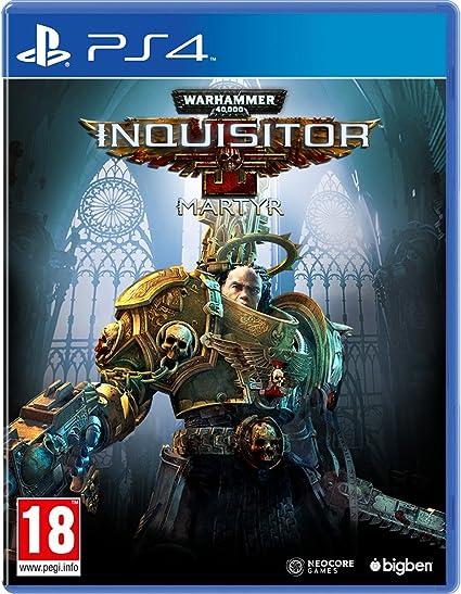 Warhammer 40,000 Inquisitor Martyr Versión Española PlayStation 4 - Edición Estándar