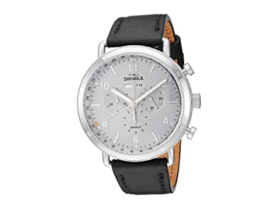 Shinola Detroit Canfield Sport 20141500 (Silver Sandblast Dial) Watches