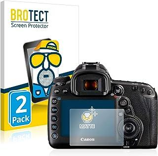BROTECT Protector Pantalla Anti-Reflejos Compatible con Canon EOS 5D Mark IV (2 Unidades) Pelicula Mate Anti-Huellas