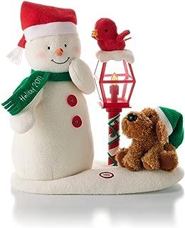 Hallmark Merry Carolers Techno Plush Snowman