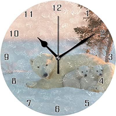 A-ZHP Pendules Horloge De Bureau Engrenages Horloges De Table pour Le Salon D/écor Non-Ticking Silencieux /À Piles Lion Cr/éatif D/écoration Quartz Horloges