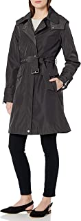 Vince Camuto Women's Belted Hooded Rain
