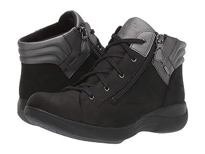 Aravon Rev Stridarc Waterproof Low Boot (Black Nubuck) Women