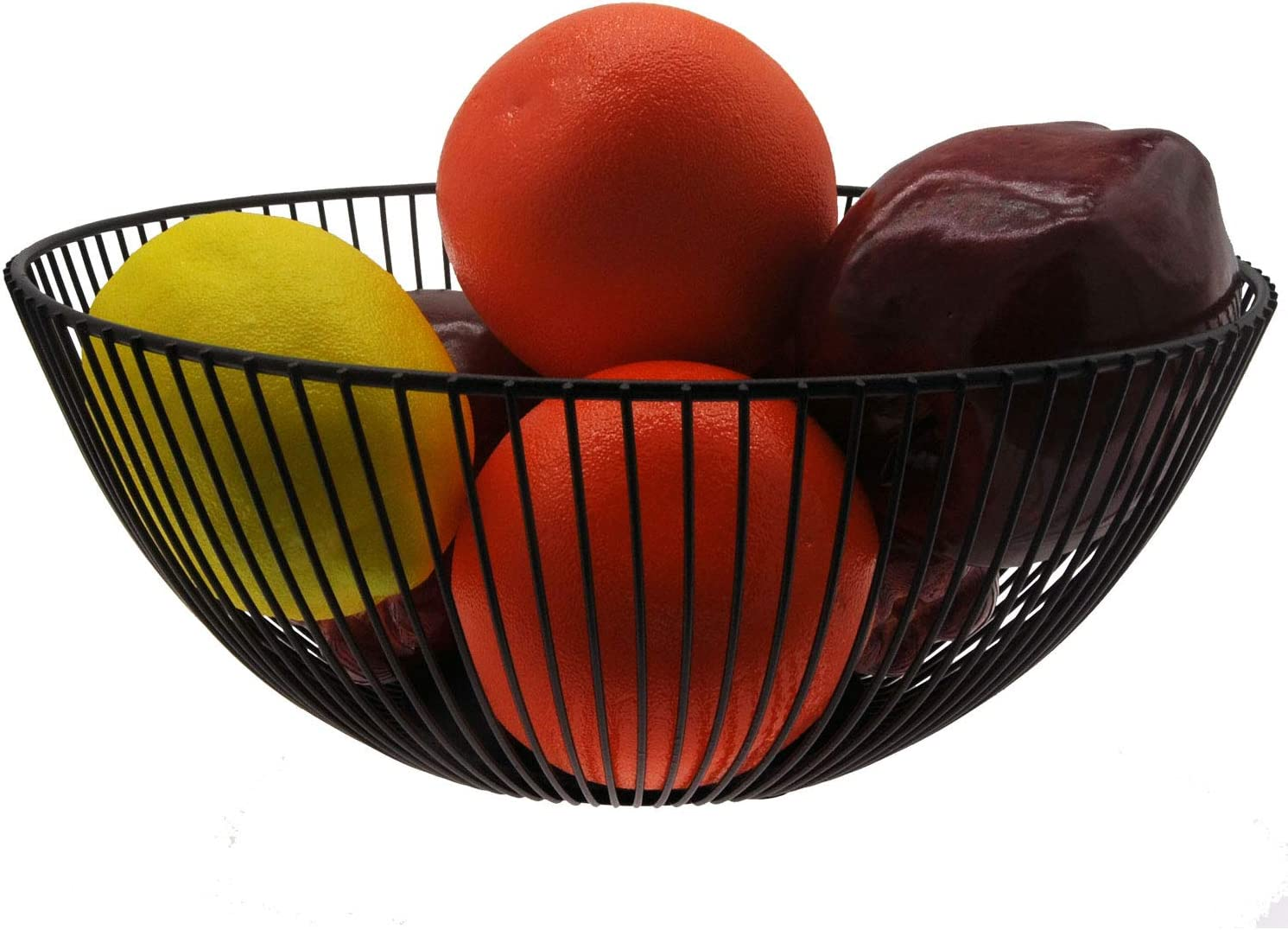 TuoTu IMetal Wire Fruit Don't miss the campaign Basket Kitchen Countertop Fru Bowl Max 53% OFF