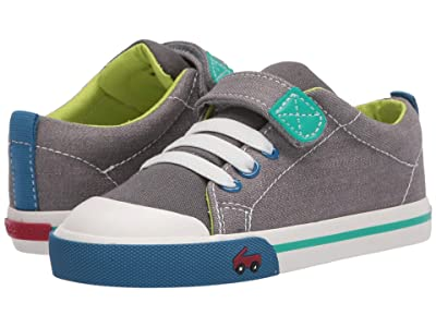 See Kai Run Kids Stevie II (Toddler/Little Kid) (Gray Denim) Boy