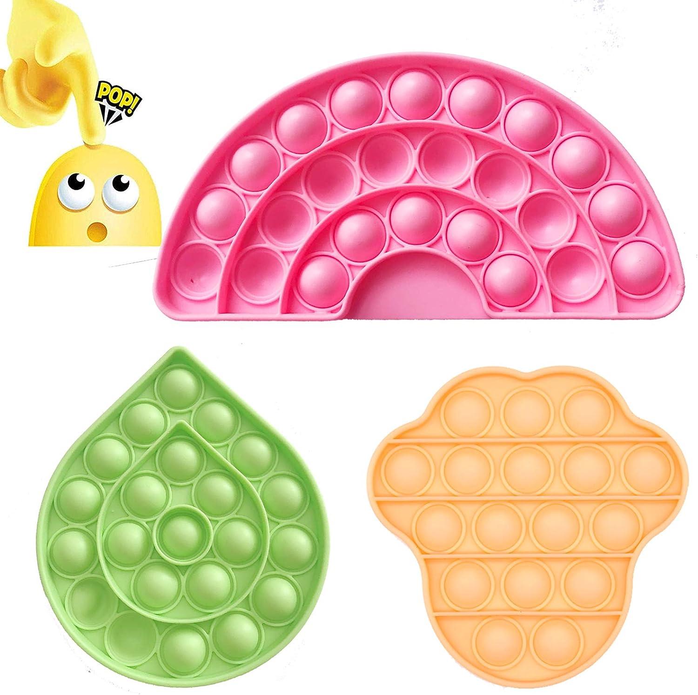 Push Pop Bubble Fidget Sensory Toy Mmbeo Fidget Toys for Autisti