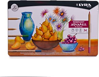 LYRA REMBRANDT AQUARELL WATER SOLUBLE COLOURING PENCILS GIFT TIN OF 36