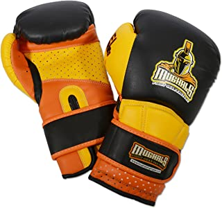 Ring to Cage Molded-Foam and Gel-Lined Training Boxing Gloves