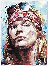 JosHoppenbrouwers Axl Rose, Guns N' Roses, impresión (50 x 70 cm)