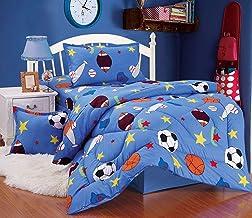 Comforter set 4pcs for kids, Single size, Car, NO.03