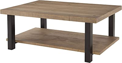 Amazon.com: Tammie Brown Cherry Wood Coffee Table by ...