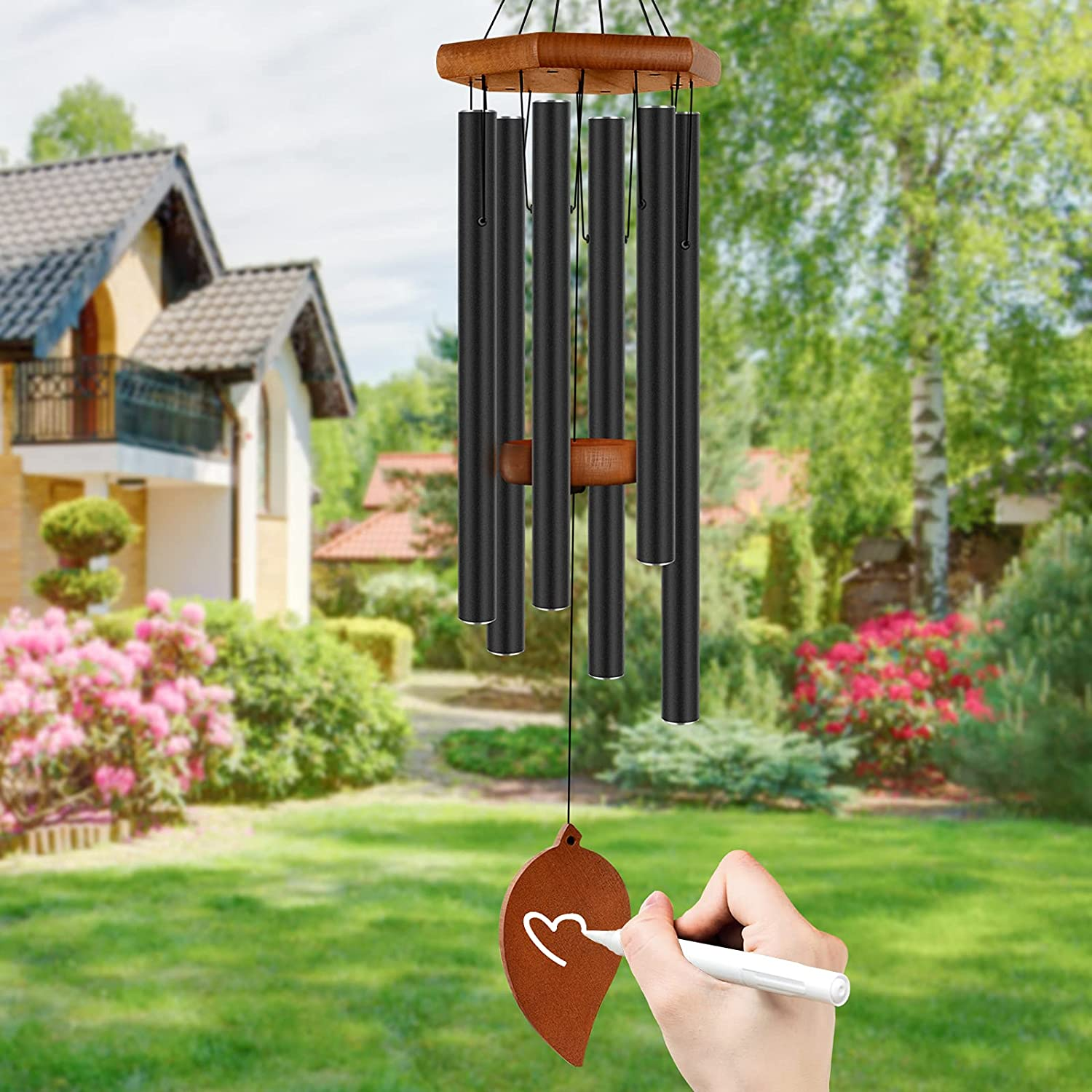"""Head Sun Sale 2021new shipping free shipping special price Wind Chimes Outdoor Clearance Large Windchimes outd 33"""""""