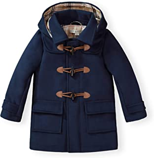 Hope & Henry Boys' Wool Blend Duffle Coat