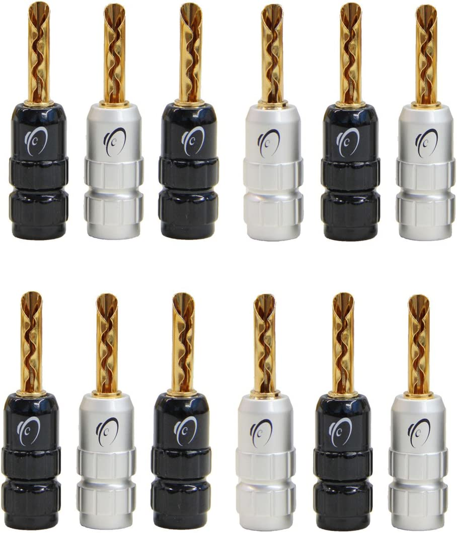 KnuKonceptz eKs BFA Style Banana Plugs Miami Mall - Set Pair Free shipping / New of 12 6