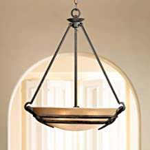 California Mission-Style Pendant Chandelier - Franklin Iron Works
