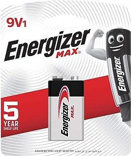 Energizer 522 BP1 9V Max Alkaline Battery, Pack of 1