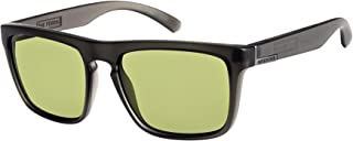 Matt Black//Yellow - XKKG Quiksilver Hideout Polarised Sunglasses