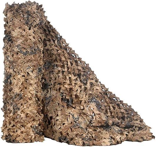 DONG Filet de Camouflage en Tissu Oxford 2 m x 3 m - pour Camping, Chasse, tir, pêche, Camping, décoration de fête, Tissu Oxford, 4x15m
