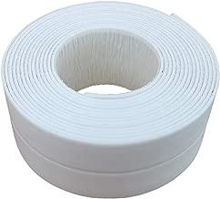 Bathtub Caulk Tape – Waterproof Self Adhesive Tub and Wall Sealing Tape Caulking Strip for Bathroom Kitchen, Tub and Wall Floor Sealer Trim, White