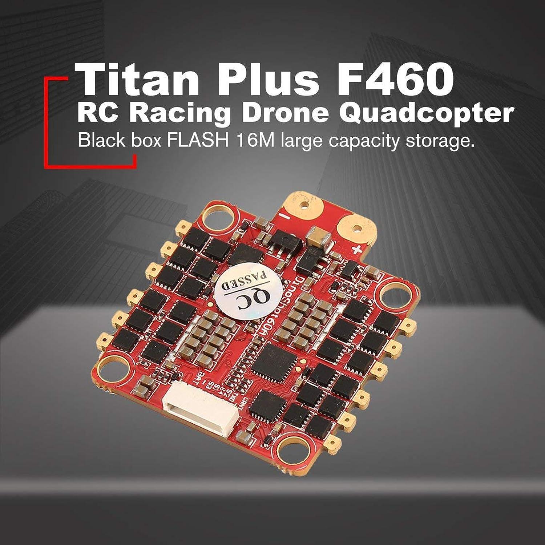 Seleccione de las marcas más nuevas como Laurelmartina HGLRC Titan Plus F460 F460 F460 Stack Airbus F4 Controlador de Vuelo FC OSD y Dinoshot1200 60A Blheli_32 ESC para RC Racing Drone Quadcopter  70% de descuento