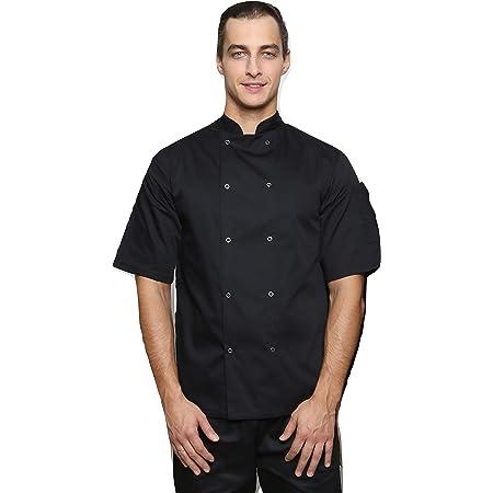 Mirabella Health & Beauty Unisex Oregano Chef's Short Sleeve Jacket