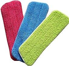 Mop Spray Microfiber Cloth Head Metal Handle Rotating Dust Collector Household Floor Cleaning Tool