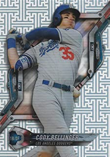 2018 Topps High Tek Pattern 4 Circuit Board #HT-CBE Cody Bellinger Los Angeles Dodgers Baseball Card