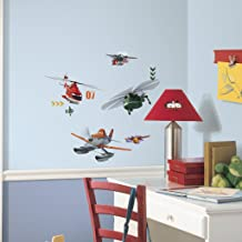 Asian Paints Nilaya Planes Fire & Rescue wall stickers