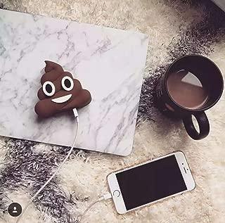 Emoji Universe: Poop Emoji Stuff Portable Charger by JACK CHLOE, 2600mAh 5V/1.5A Poop Stuffed Power Bank