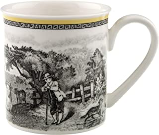 Audun Ferme Coffee Mug by Villeroy & Boch - Premium Porcelain - Made in Germany - Dishwasher and Microwave Safe - 10 Ounce...
