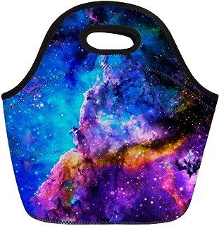 حقيبة حفظ طعام من النيوبرين من MEIFENG Universe Galaxy حقيبة طعام معزولة ، اللون: الكون المجرة-6 (اللون: Universe galaxy y-4)