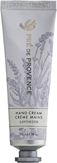 Pre de Provence 20% Natural Shea Butter Hand Cream, For Repairing, Soothing, & Moisturizing Dry Skin - Lavender (1 oz)