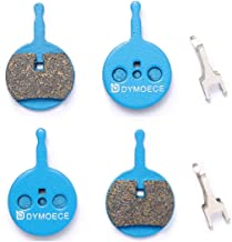 Dymoece 2 Pairs Bicycle Disc Brake Pads for Avid BB5 Mechanical Disc Brake (Resin,Semi-Metallic,Sintered Metal)