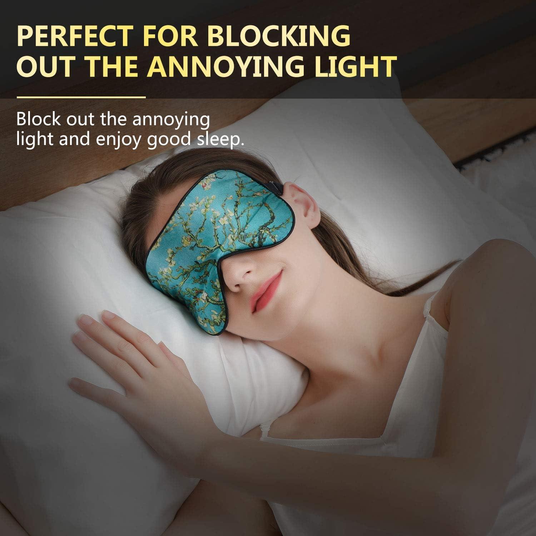 ZIMASILK 100/% Natural Silk Sleep Mask Blindfold,Adjustable Super-Smooth Soft Eye Mask for Sleep with Bag Love - Black