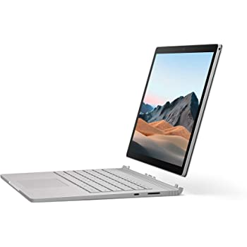 "Microsoft Surface Book 3 - Ordenador portátil convertible 2 en 1 de 13"" Full HD (Intel Core i5-1035G7, 8 GB RAM, 256 GB SSD, Windows 10 Home) platino - Teclado QWERTY Español"
