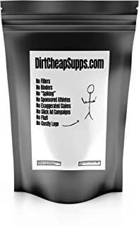 DirtCheapSupps Highly Branched Cyclic Dextrin (Cluster Dextrin) 1kg/2.2lbs (Unflavored)