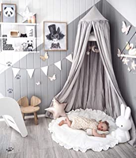 LEDUNUS Princess Bed Canopy Mosquito Net for Kids Baby...