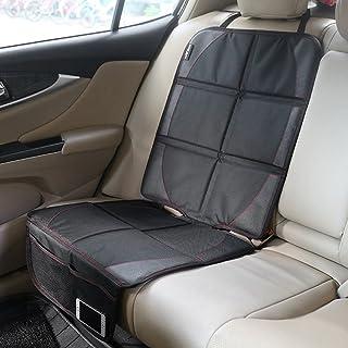 Autositzauflage zum Schutz vor Kindersitzen Isofix geeignet, Zuoao Premium Auto Kindersitzunterlage Kindersitz Unterlage Rutschfest Pflegeleicht und Sicher Autositzschutz in universeller Passform