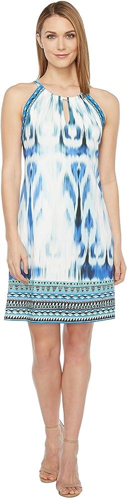 Sun Streaked Microfiber Jersey Dress