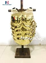 Brass Greek Muscle Medieval Armor Cuirass