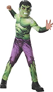 Rubies Marvel Universe Classic Collection Avengers Assemble Incredible Hulk Costume, Child Medium