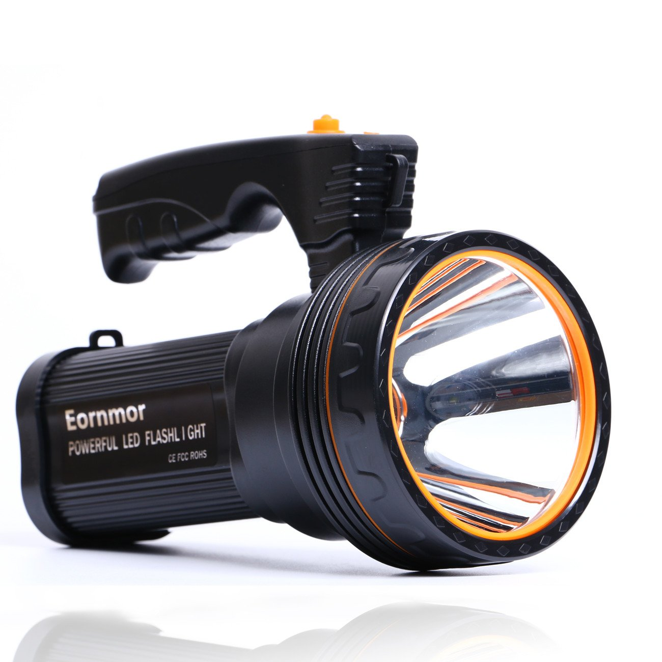 Eornmor Flashlight Rechargeable Searchlight Multi function