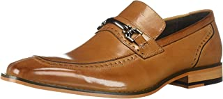 حذاء رجالي من STACY ADAMS بتصميم Tanner Moc Toe بدون كعب ، لون أسمر ، مقاس 9 M US