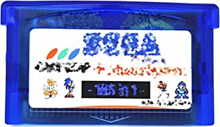 CMDZSW Suitable For Nintendo GBA 106-in-1 Video Game Assembly Cassette With Console Card (Color : Classics 106 in 1)