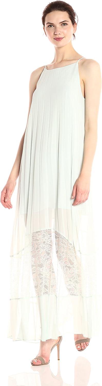 BCBGeneration Womens Pleated Maxi Dress Dress