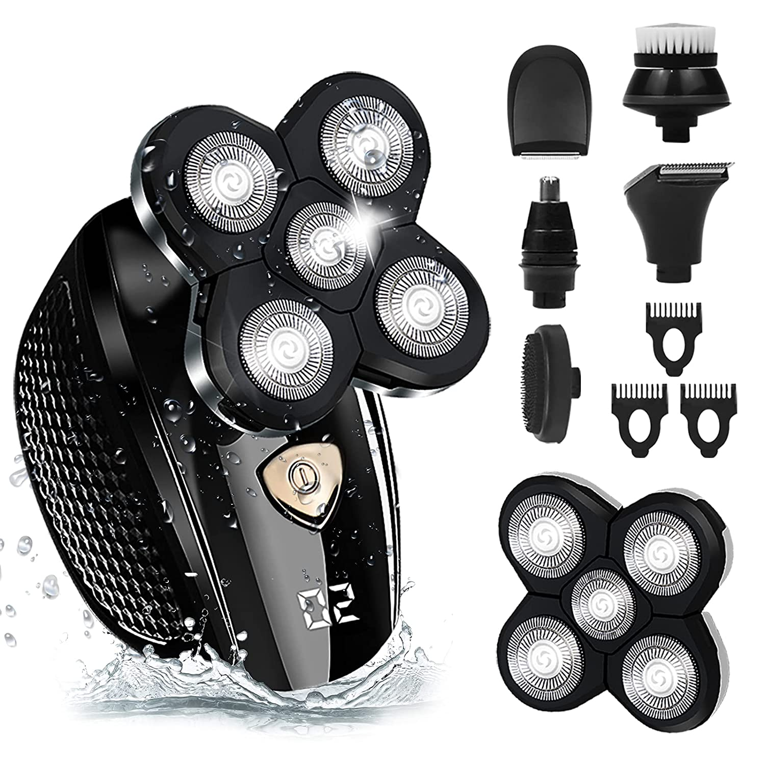 Head Shaver Upgrade Limited Special Price 6-in-1 shavers Freedom Portland Mall Gro Men for Bald