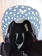 Moon-bebe Capota universal para Maxi-Cosi azul (nuves)