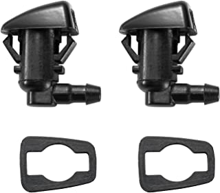 2 Front Windshield Washer Nozzle Kit fit for 2011-2015 Ford F250 F350 F450 F550 Super Duty, Replacement for BC3Z-17603-A BC3Z17603A