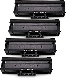 Hitze Samsung MLT-D111S MLT-D111L Cartucho de Tóner, MLT-D111 Compatible para Samsung Xpress M2026W M2026 M2070 M2020 M2022W M2020W M2078 M2078W M2070F M2070FW M2070W M2070HW M2071 M2071W (4 Negro)